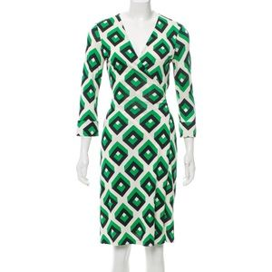 DVF Vintage Collection Silk Wrap Dress